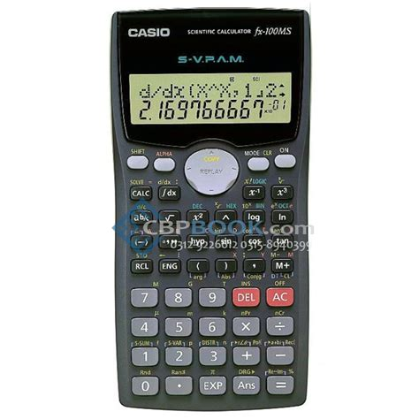 calculator level 118 casio scientific calculator fx 100ms original cbpbook