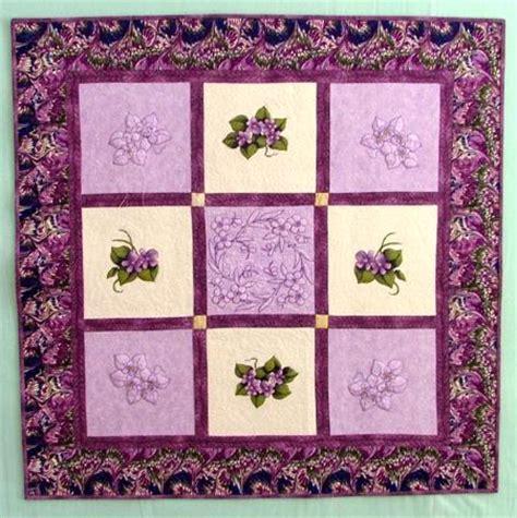 Violet Quilt by Advanced Embroidery Designs Violet Redwork Quilt Block Set