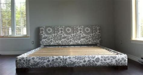 upholstered bed frame king size do it yourself home