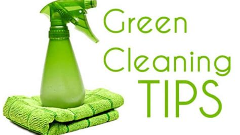 5 green cleaning tips for your home cleaning exec