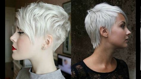 best shoo for gray hair short pixie haircuts for gray hair youtube