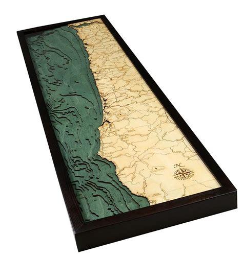 oregon woodworker oregon coast wood chart wood map the wooden sailor