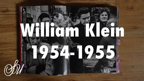 Book Review Up And By Klein by William Klein 1954 1955 Book Review