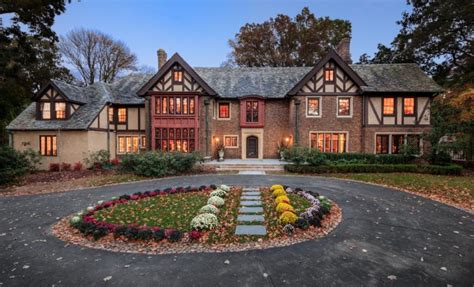 historic tudor mansion  summit nj homes   rich