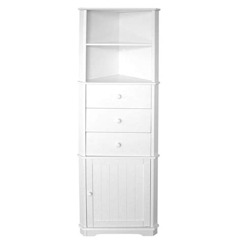 Shelf And Drawer Unit by White Shelf Cupboard And Drawer Corner Unit 241563l At
