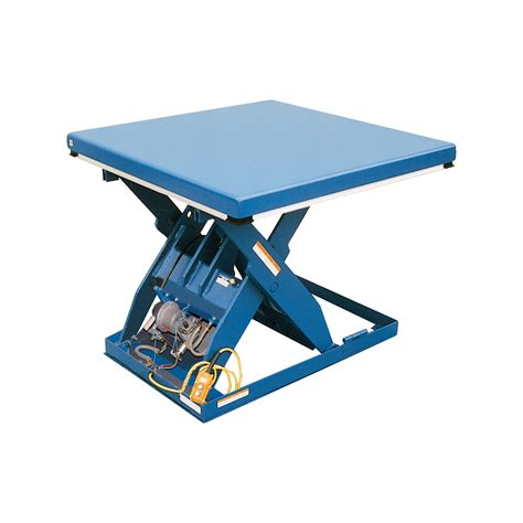 vestil rotary air hydraulic scissor lift table pneumatic
