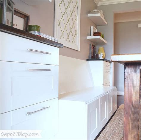 how to build a banquette out of cabinets banquettes ikea cabinets and ikea on pinterest