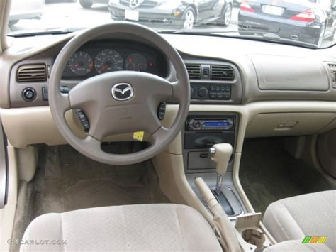 beige interior 2000 mazda 626 lx photo 53087315