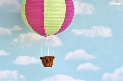 How To Make A Paper Air Balloon - paper lantern diy air balloons tutorial