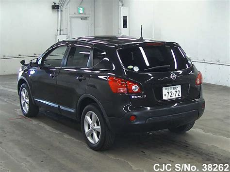 nissan dualis 2008 2008 nissan dualis black for sale stock no 38262