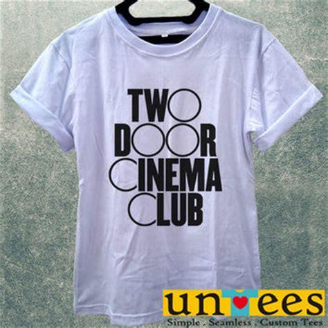 Hoodie Two Door Cinema Club Merah shop two door cinema club t shirts on wanelo