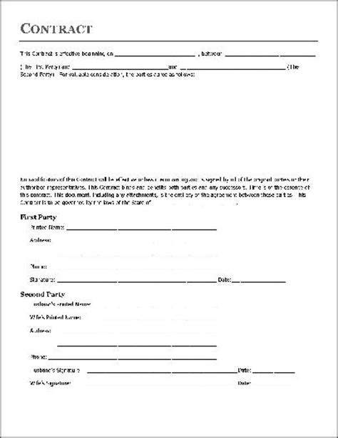 Agreement Letter Between Husband And Free Basic Contract Individual To Husband And From Formville
