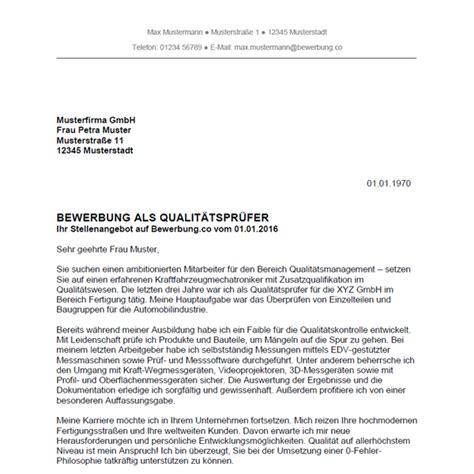 Bewerbung Anschreiben Vorlage Schlosser Bewerbung Als Qualit 228 Tspr 252 Fer Qualit 228 Tspr 252 Ferin Bewerbung Co