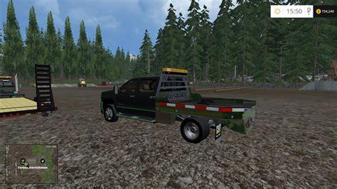 cummins pickup bed log truck for fs15 farming simulator 2015 silverado 3500 no stacks ls2015 v2 0 mod download