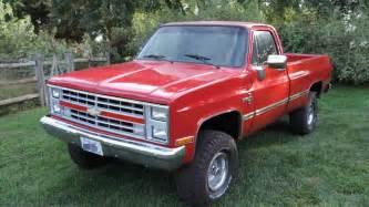 1987 chevrolet k10 4 215 4 truck for sale