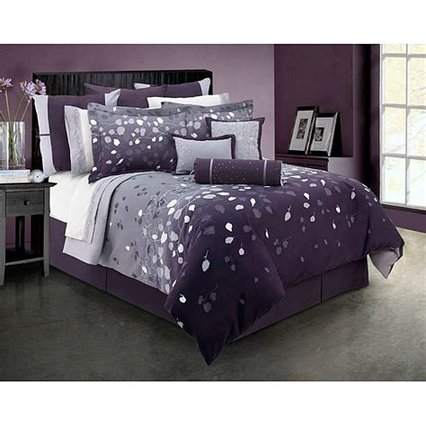 Home Design Down Comforter Reviews Lavender Dreams King Size 4 Piece Comforter Set Free