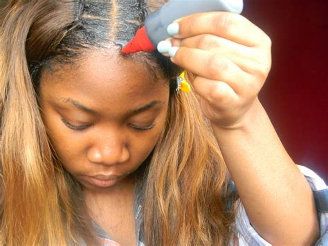 style a glue in how to do a sew in weave step by step new style for 2016