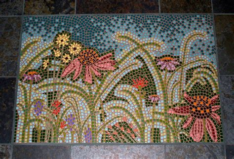 tile mosaic little flock studio