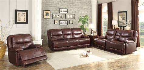 burgundy living room furniture risco burgundy double reclining living room set from