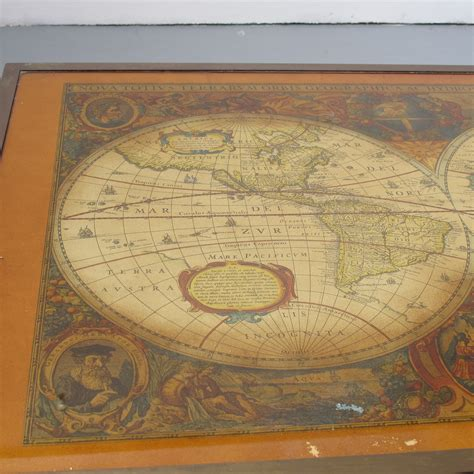 map coffee table antique world map coffee table les trois gar 231 ons