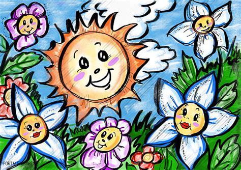fiori disegnati da bambini disegni di fiori da stare e colorare gratis portale