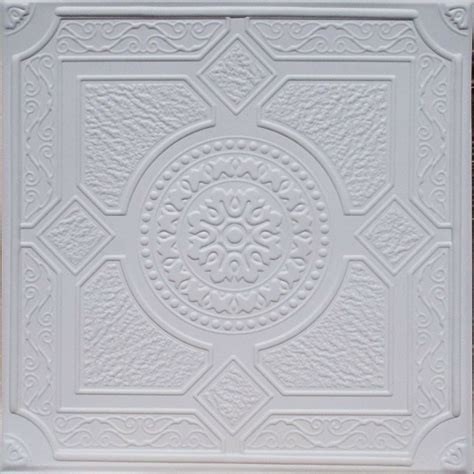 Painting 12x12 Ceiling Tiles by Drop In Or Glue On Universal 24 Quot X24 Quot Pvc Ceiling Tile
