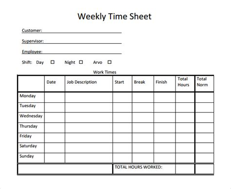 time card template sheets free timesheet and timecard templates for excel vlashed