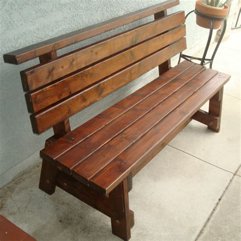 how to make wooden benches outdoor wooden bench diy ideas on pinterest outdoor benches garden