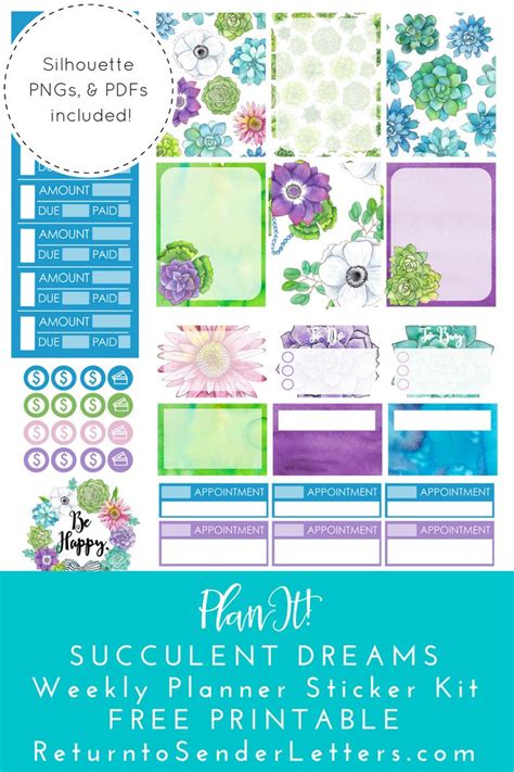 free printable planner kits 25 best ideas about printable planner stickers on