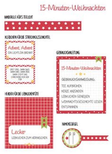 Aufkleber 15 Minuten Weihnachten by Etiketten 15 Minuten Weihnachten In Der T 252 Te Weihnachten