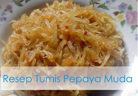 resep membuat takoyaki rumahan resep tumis pepaya muda resep masakan rumahan kumpulan
