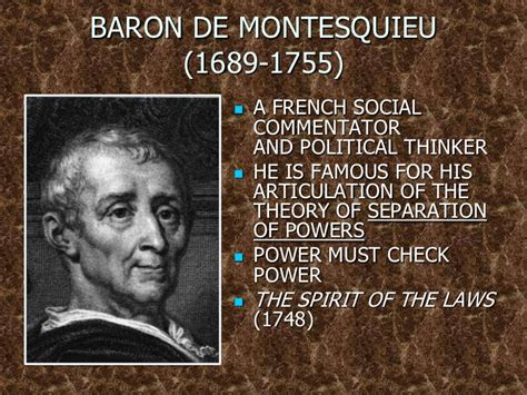montesquieu biography facts age of reason