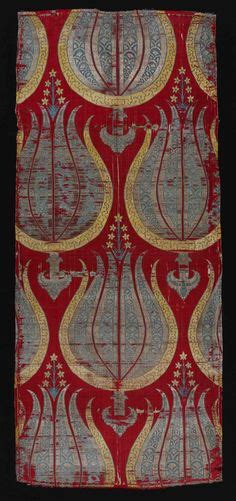 furnishing fabric turkey 16th century patterns five pinterest ottoman turkish and greek embroidery and textiles on