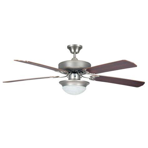 High Tech Ceiling Fan by Radionic Hi Tech Ranch 52 In Satin Nickel Ceiling Fan