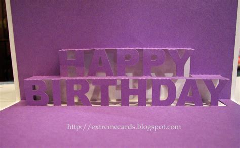 Pop Up Card Templates Happy Birthday by Happy Birthday Pop Up Card