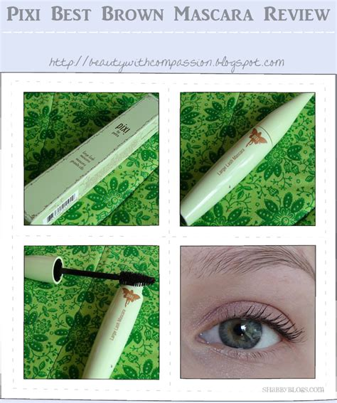 best brown mascara with compassion pixi best brown mascara review