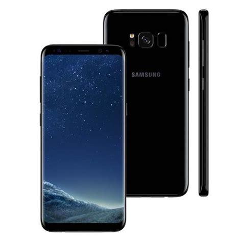 o samsung s8 smartphone samsung galaxy s8 dual chip preto 64gb tela 5 8 android 7 0 4g c 226 mera 12mp e