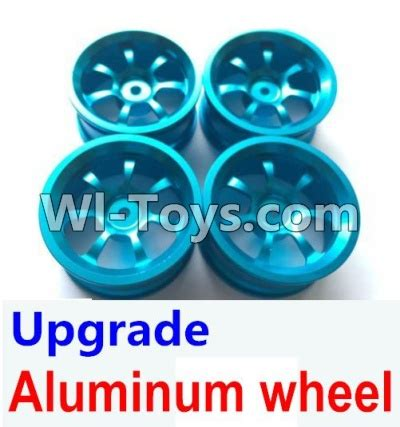 Tire And Wheel A959 4pcs wltoys a959 parts 80 upgrade metal connect buckle trolley