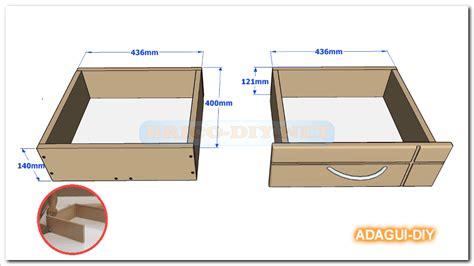 como hacer cajones de madera v 237 deo como hacer gavetas y cajones de mdf para muebles