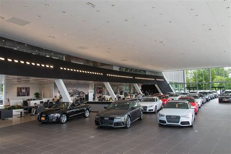 audi dealership interior portfolio for redcom design construction llc redcom