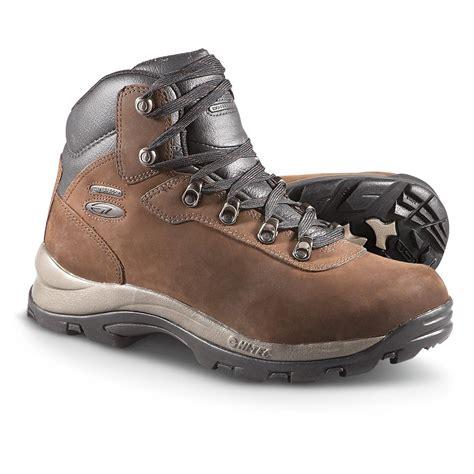 hi tec altitude iv waterproof hiking boot mens s hi tec 174 altitude iv waterproof hikers
