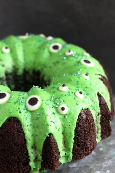 Monster Bundt Cake Make A Simple Monster Cake