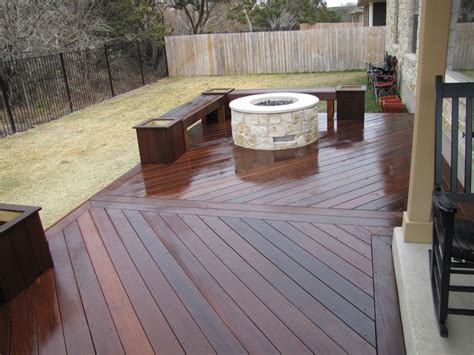 Gas Firepit For Deck Ipe Deck W Gas Pit Yelp
