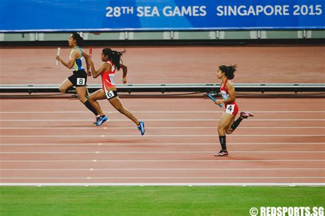 detiksport sea games 2015 sea games athletics 4x100m relay two national records