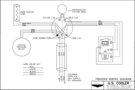 walk in freezer wiring diagram fisher scientifc walk in