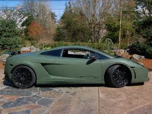 matte auto paint colors lamborghini superleggerra matte army green wraps around