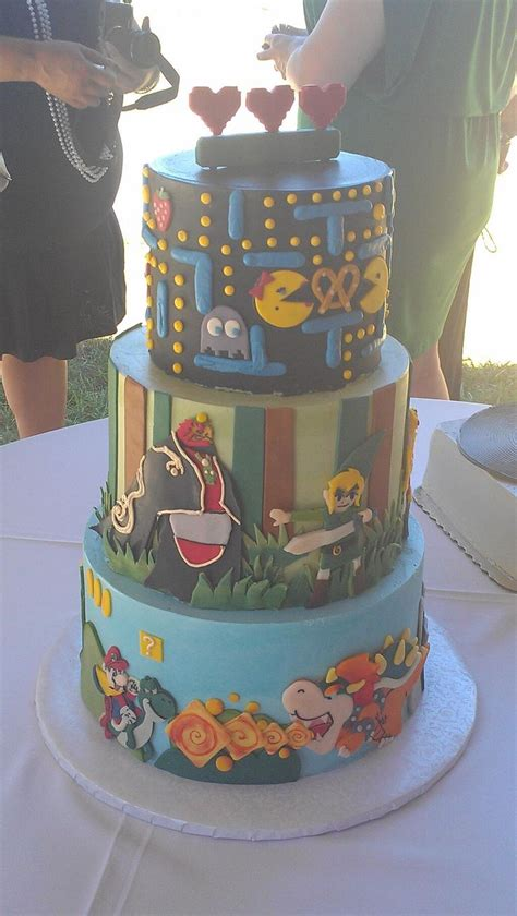 Hochzeitstorte Gamer by Wedding Cake Let Them Eat Cake