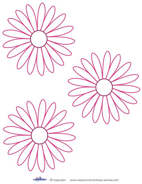 exiucu biz daisy template to cut out