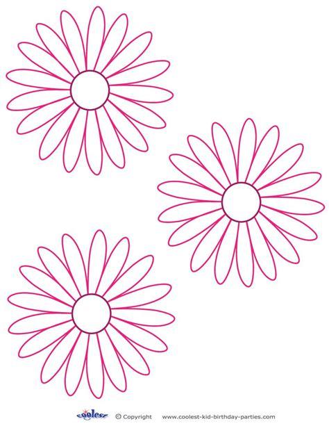 трафареты цветов шаблоны для вырезания
