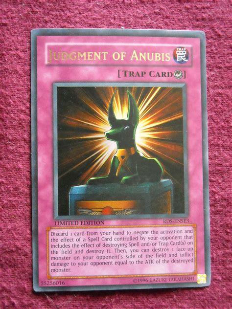 earthquake yugioh yu gi oh judgment of anubis rds ense3 trap card yugioh